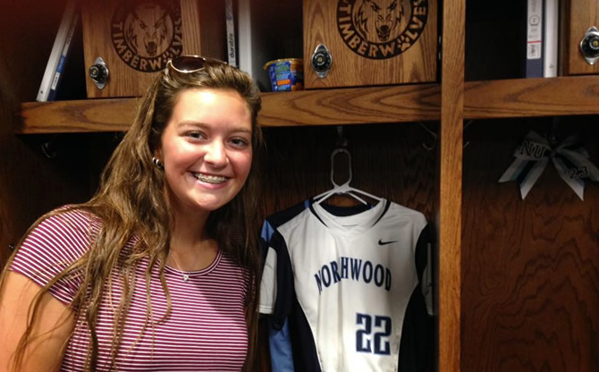 Delanie Grundman Commits to Northwood University