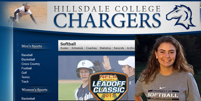 Erin Hunt Commits to Hillsdale