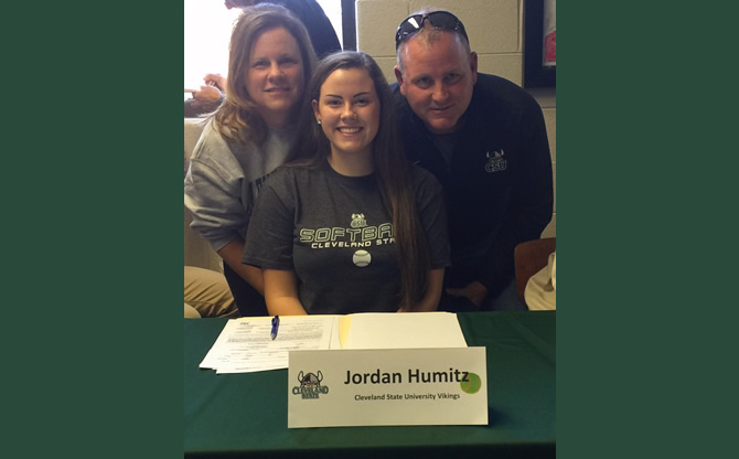 Jordan Humitz Signs NLI for Cleveland State University
