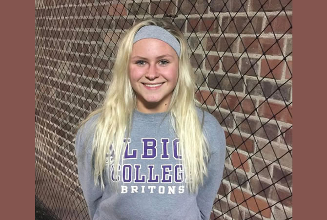 Meghan Moser Commits to Albion College