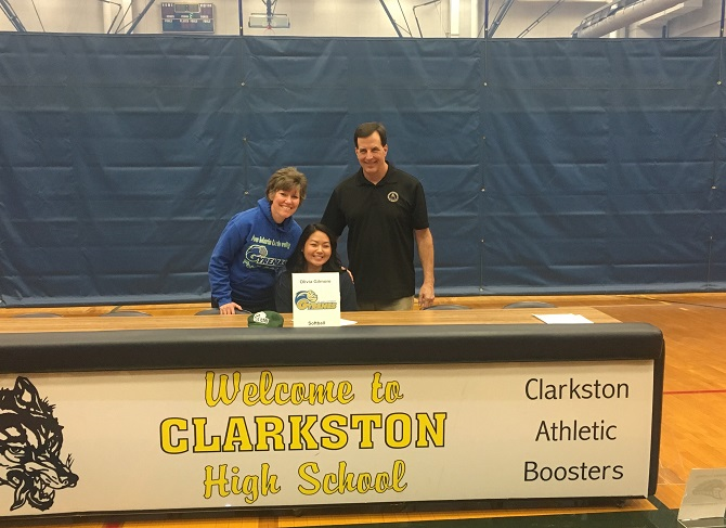 Olivia Gilmore Commits to Ave Maria University