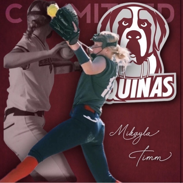 Mikayla Timms Commits to Aquinas